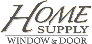 home supply window and door logo