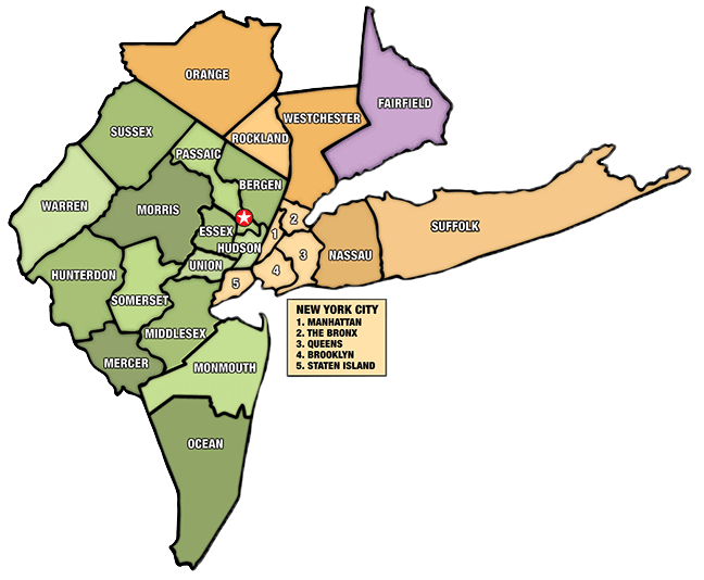 map of new york areas served